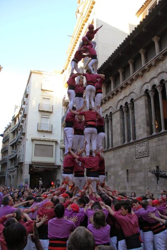 19è Aniversari Castellers de Lleida. Paeria . 5-04-14 - IMG_9535.JPG