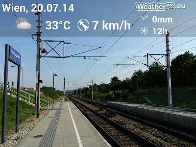 Große Hitze in Perchtoldsdorf #Wetter #Wetterbeobachtung