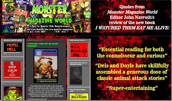 Monster Magazine World Review graphic