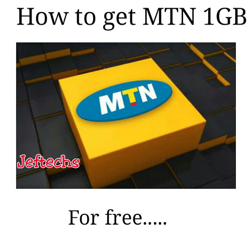 How To Get Free 1gb On Mtn. Mtn Cheat.