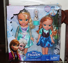 Thumbnail image for Ykaie loves her Disney Frozen Dolls: Elsa and Anna