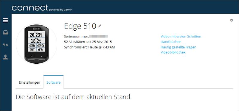 Connect - Garmin Edge 510
