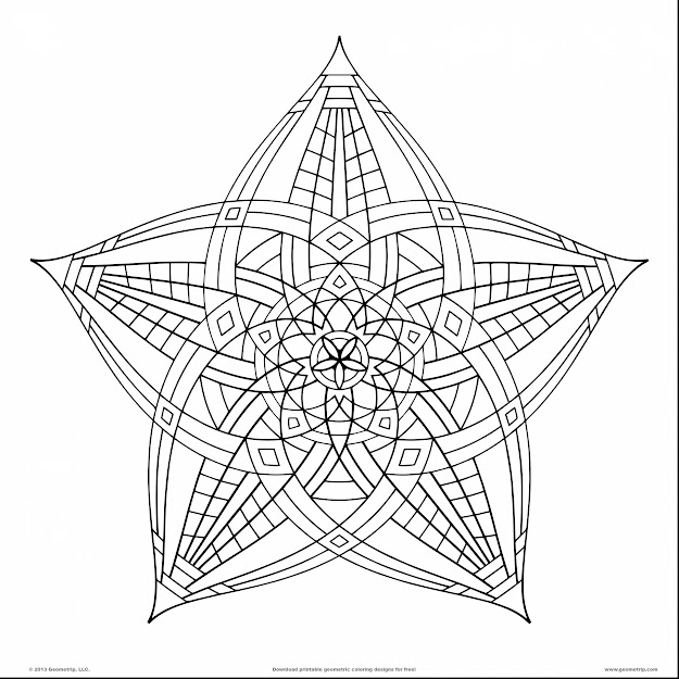 Fabulous Design Coloring Pages Adults With Geometric Coloring Pages And Geometric  Coloring Pages Printable
