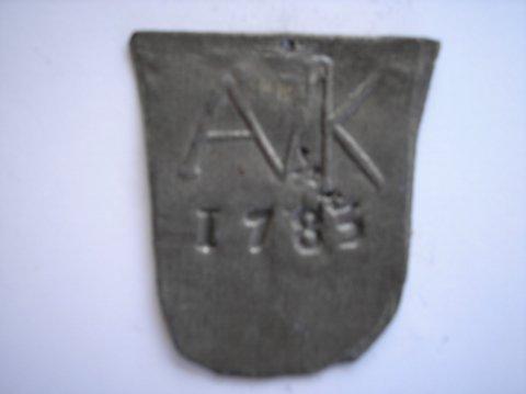 Naam: AVKPlaats: HaarlemJaartal: 1785Vindplaats: St Bavokerk