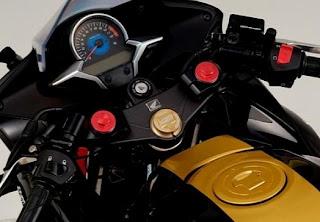 CBR250R Mugen accessories