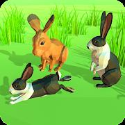 Rabbit Simulator Poly Art Adventure
