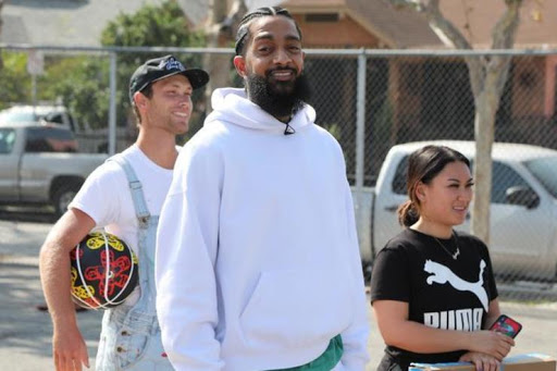 Video Shows Nipsey's Killer Hopping In A Car Before It Speeds Away