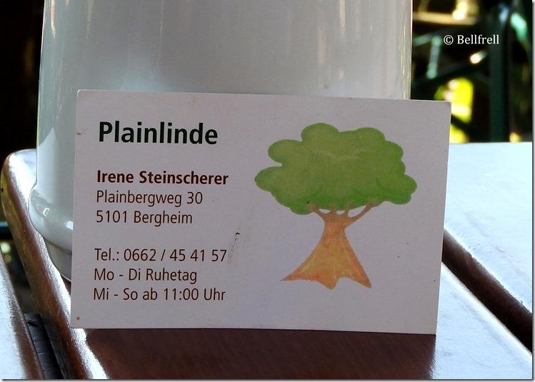 Visitenkarte Plainlinde