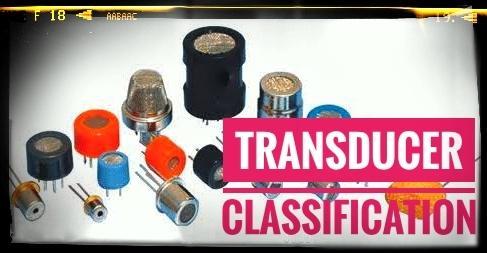 Transducer Classification (William D.C, 1993)