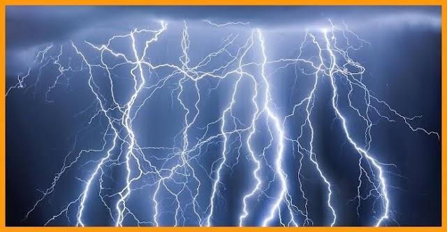 आकाशीय बिजली गिरने से दो बच्चों की मौत।