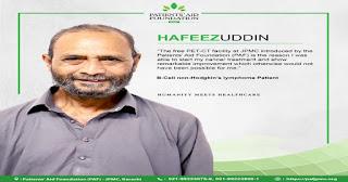 Hafeezuddin Wald Hakeemuddin, a 61 year old resident of Karachi