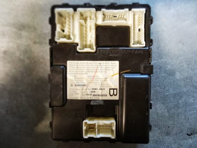 2003 Infiniti I 35 Engine Diagram Diy Body Control Module Replacment Bcm G35driver