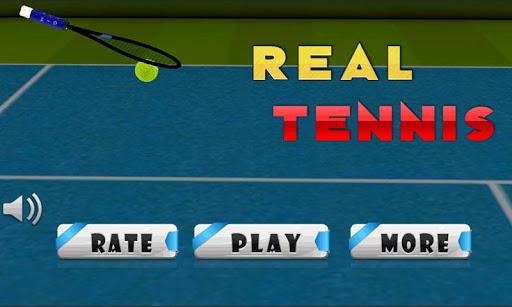 Play World champion Tennis 3D™