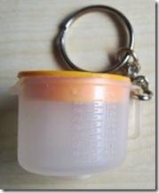 tupperware  bol melangeur orange