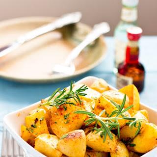 Rosemary Garlic Roasted Potatoes