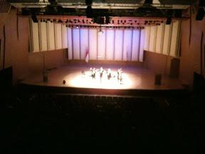 At the Singapore Philharmonic Hall 2010