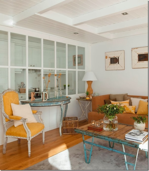 mansarda-shabby-cucina-parete-vetrata (1)