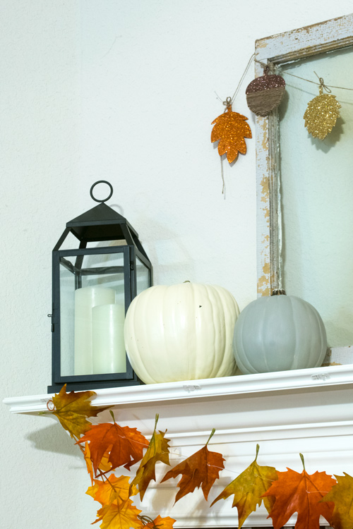 Lantern for fall decor