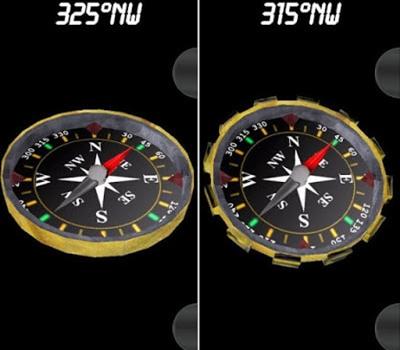 rekomendasi aplikasi compass android 3D Compass