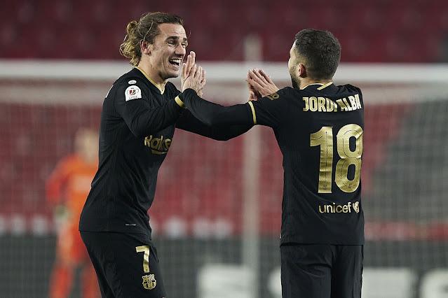 8 gol Dalam Satu Perlawanan, Barcelona Belasah Granada dalam Copa Del Rey 2021.