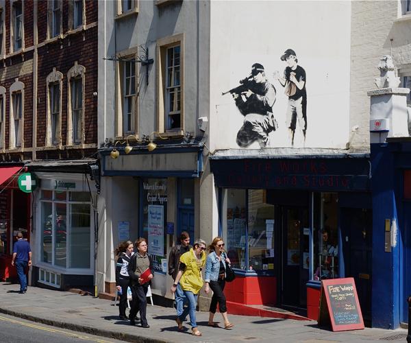 Вдъхновяващи примери за банкси арт и графити(Bansky art)