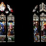 Collégiale Saint-Martin : vitraux sud (19e s.)