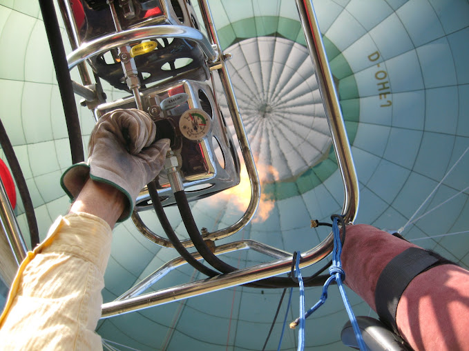 Como pilotar um balão