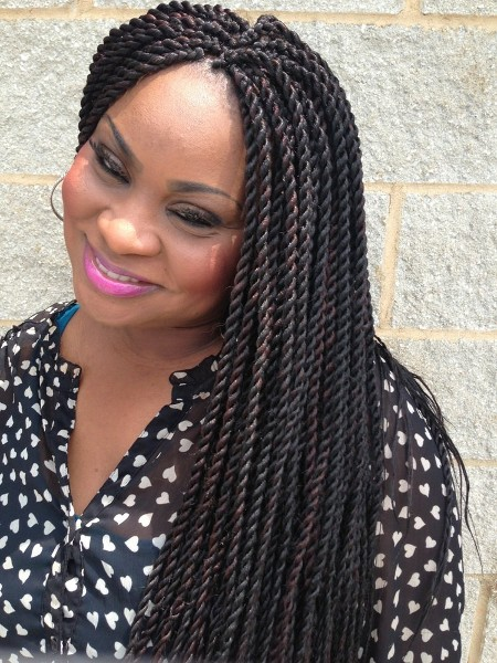 African Twists Hairstyles For Braids