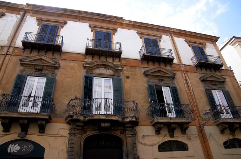 32. Windows and Balconies. Palermo. Sicily. 2013