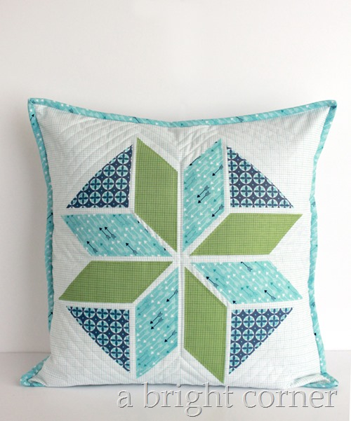 Winter Star Pillow tutorial