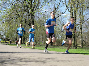 III Bieg dookoła ZOO 16.04.2011