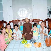 [DCQD-1101] Gia đình cô Liên Phước thỉnh Thầy tại nhà riêng (05/05/2011)