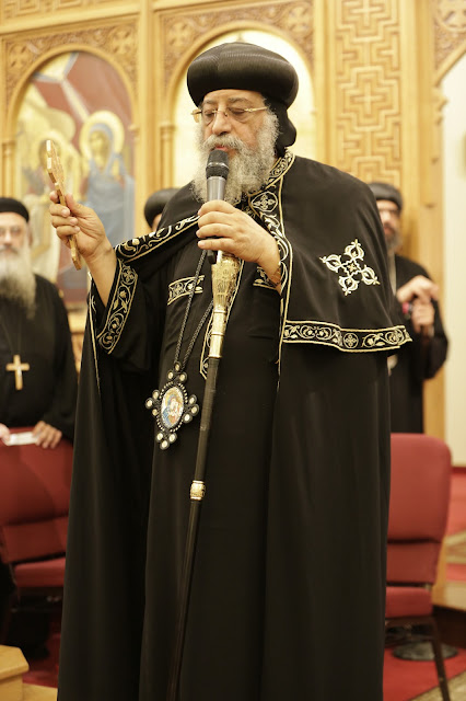 His Holiness Pope Tawadros II visit to St. Mark LA - _09A9246.JPG