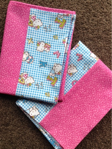 Jen S Crafts And Quilts Scrapbook Pretty Kitty Pillow Cases