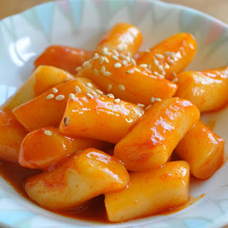 Spicy Rice Cake (떡볶이Ddukbokki/Tteokbokki)