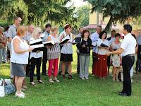02 Musica Aurea Vegyeskar Béres Gábor vezetésével az elmélműnél.JPG
