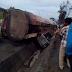 Graphic photos: Petrol tanker kills six in Akwa Ibom, some burnt beyond recognition