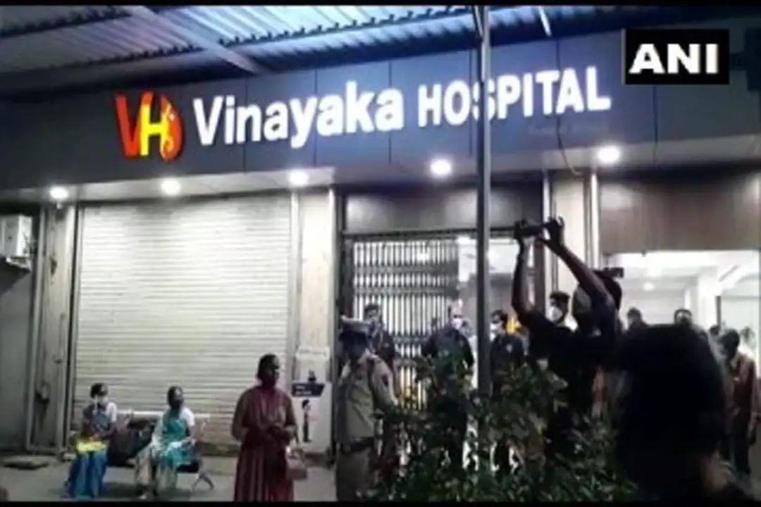 महाराष्ट्र के नालासोपारा में आक्सीजन की कमी के कारण 10 मरीजों की मौत