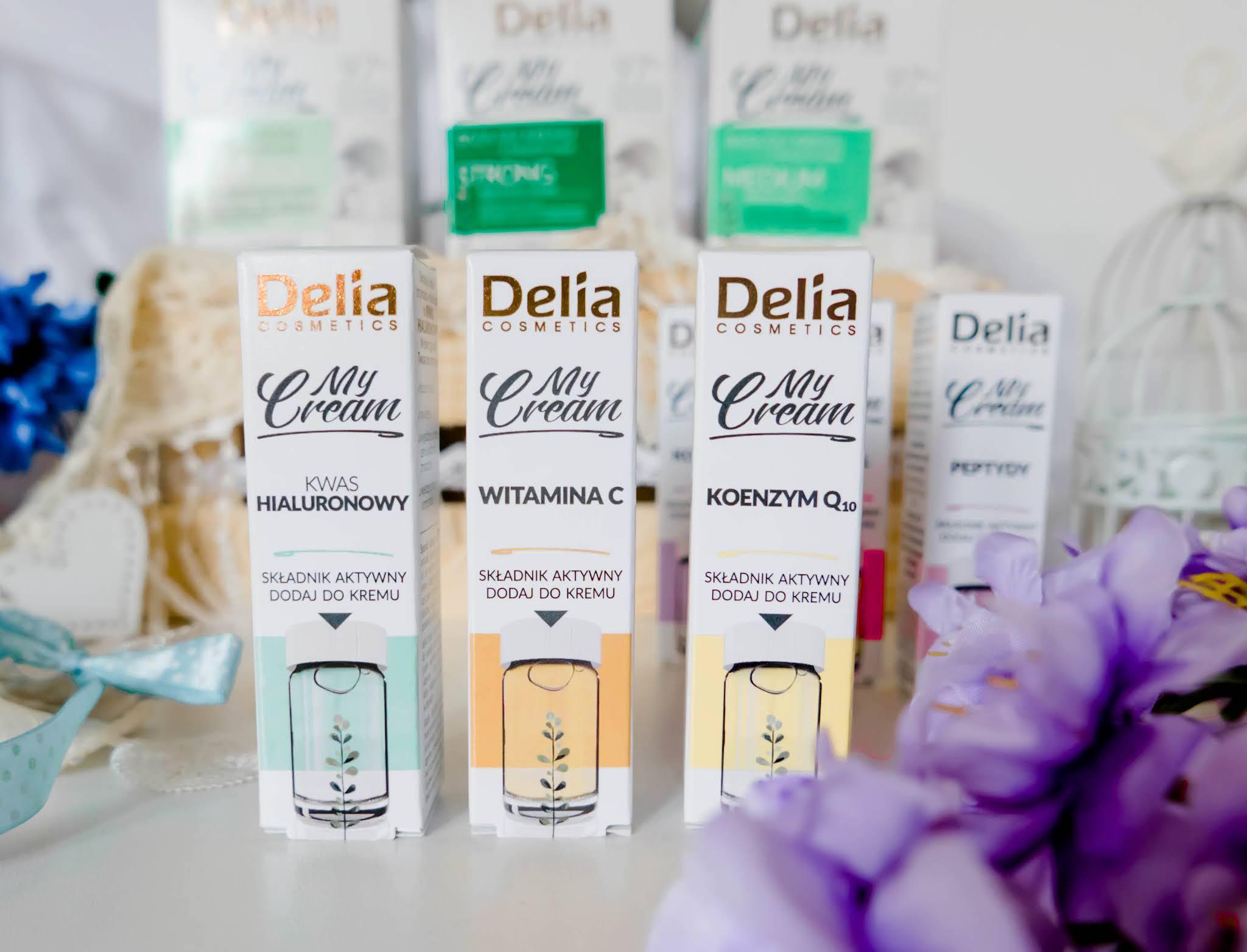 My Cream Deila Cosmetics  składniki aktywne
