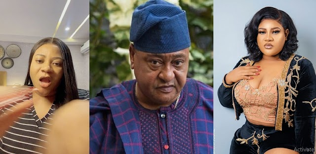 God Will Work Against Your Entire Generation Yet Unborn - Nkechi Blessing Fires Back At Jide Kosoko [Photos]
