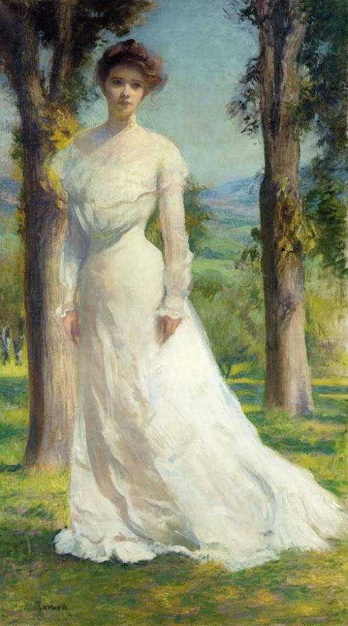 Edmund Charles Tarbell - Margaret Under the Elms