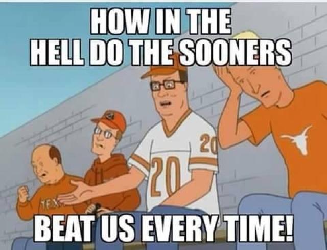 Ou Texas Memes Soonersblog Com