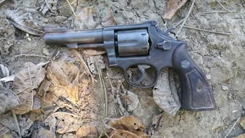 Arma utilizada por el Haitiano