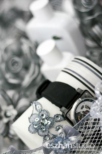 gubahan hantaran jam tangan ana raffali - naim kahwin