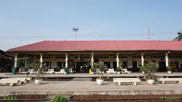 小规模的火车站