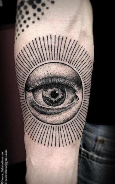 Este incrível olho que tudo vê