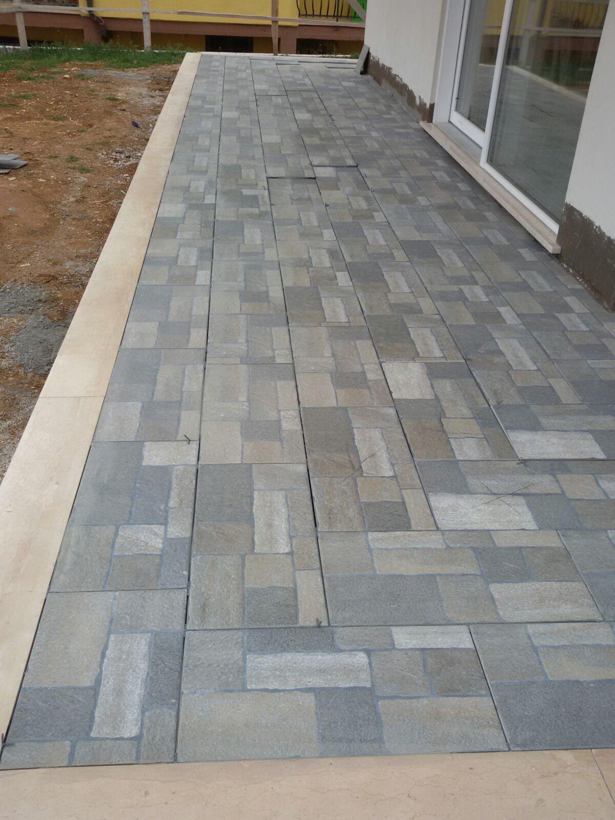 Pavimenti per marciapiedi esterni top with pavimenti per - Posa piastrelle esterno ...