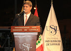 """Raúl Diez Canseco Terry, fundador presidente de USIL: """"Fernando Belaunde está presente en nuestras almas, en nuestros cuerpos, en nuestros corazones"""""""