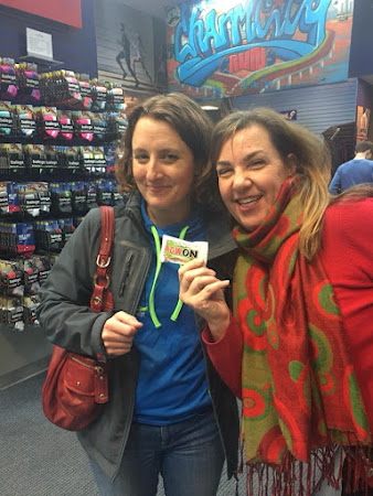 Thank you to Charm City Run for the Annapolis Striders Sip & Shop with attendees Lauren Colvin & Leslie Sparks