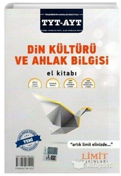 Limit Yayınları TYT-AYT Din Kültürü ve Ahlak Bilgisi El Kitabı